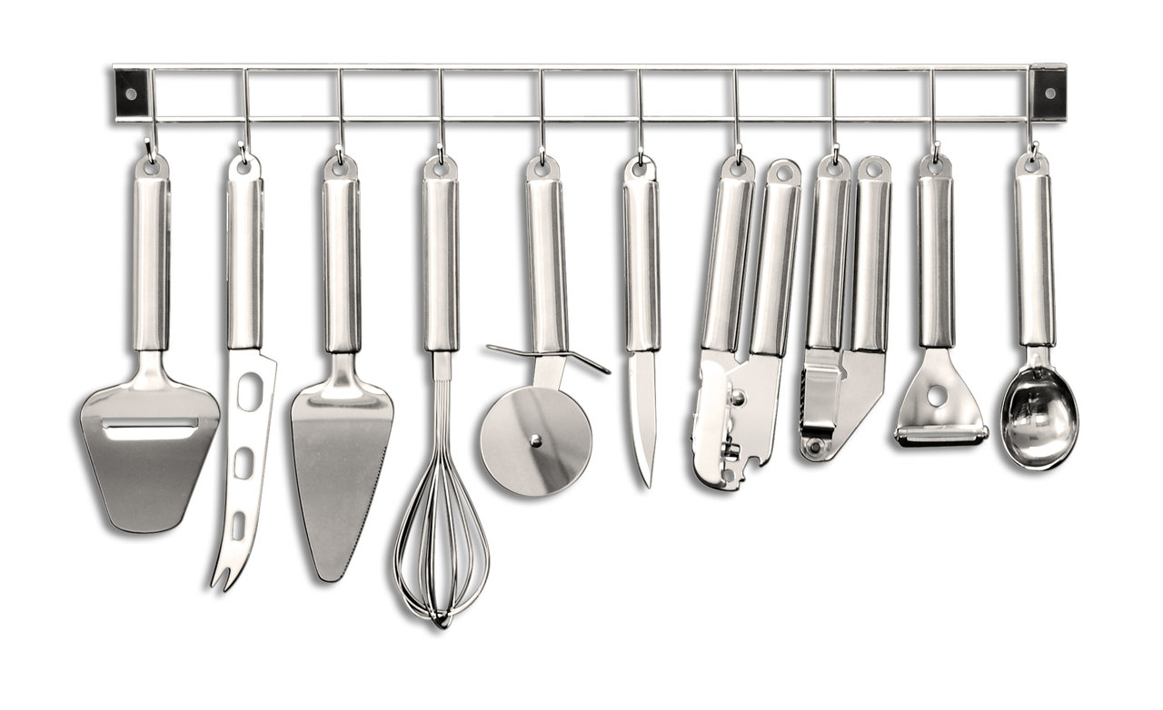 kitchen 10 piece hanging utensil set best selection